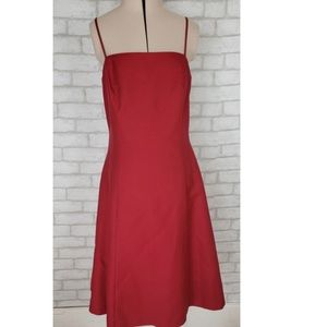 Red Ann Taylor Bridesmaid/Homecoming Dress Sz 6